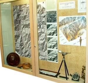 Earth Science surveying display.